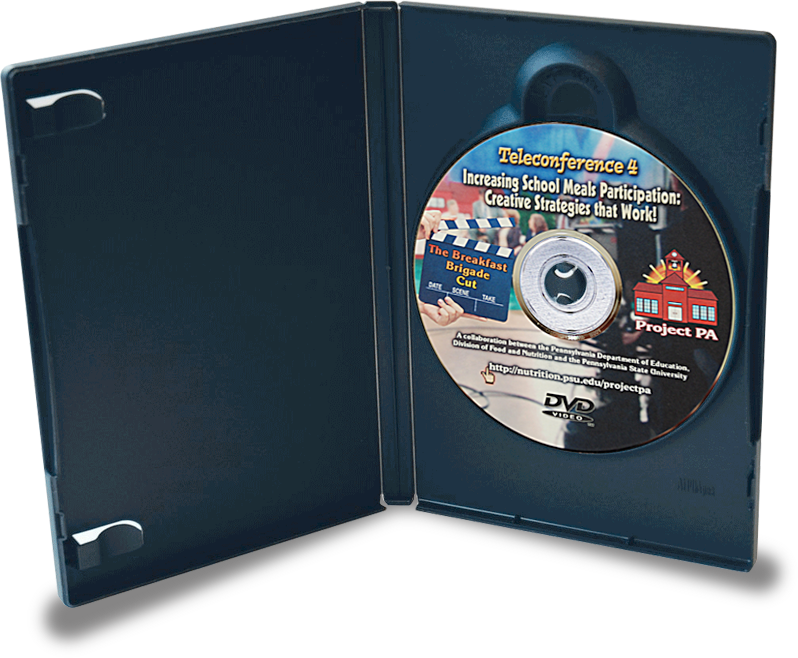 Teleconference 4 DVD Case and DVD